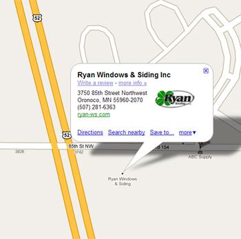 Contact Us Ryan Windows Amp Siding